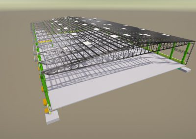 Logicon industrial hall expansion