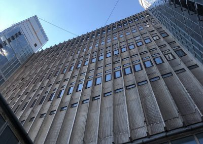 Expertise of a reinforced concrete tall building